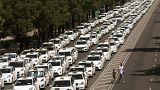 Espagne : première victoire pour les taxis