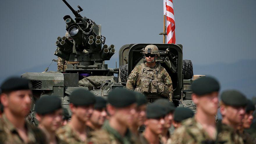 NATO-katonák Oroszország szomszédságában