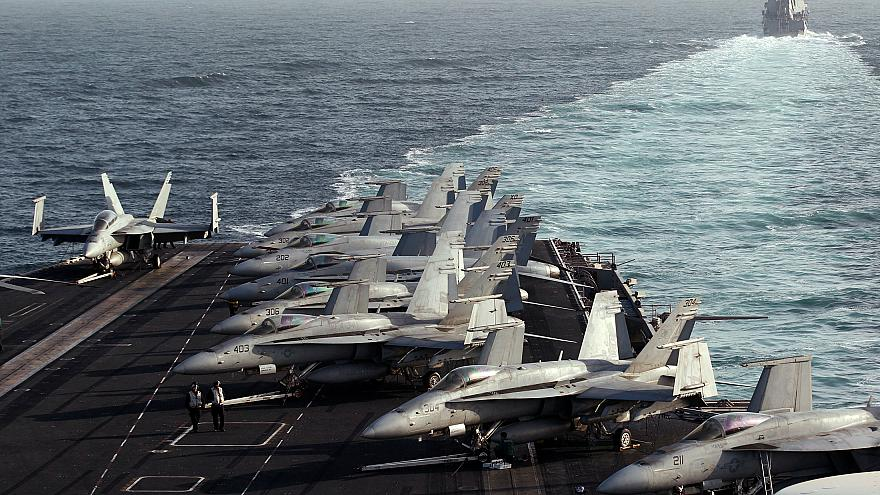 ABD: İran 48 saat içinde Körfez'de büyük bir tatbikat yapacak