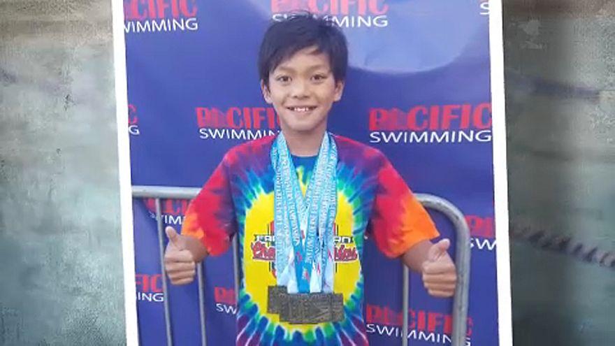 A 10 éves Superman, aki megdöntötte Phelps rekordját