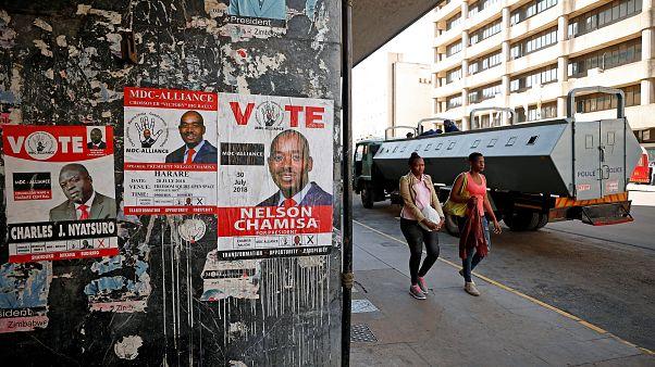 Warten auf das Wahlergebnis: Gespenstische Ruhe in Harare