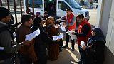 Randevu alan Suriyeliler bayram için ülkelerine dönüyor