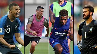 Mbappé, Ronaldo, Lemar e Alisson estão em destaque este verão