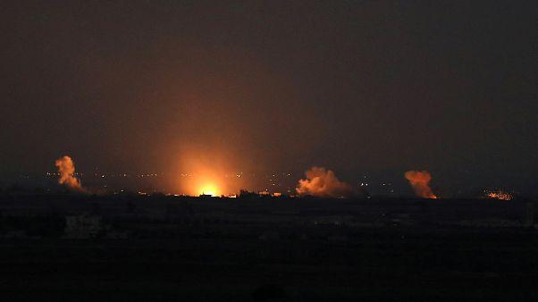 إسرائيل تقصف الجولان وموسكو تقول إنها ستنشر قوات عسكرية هناك