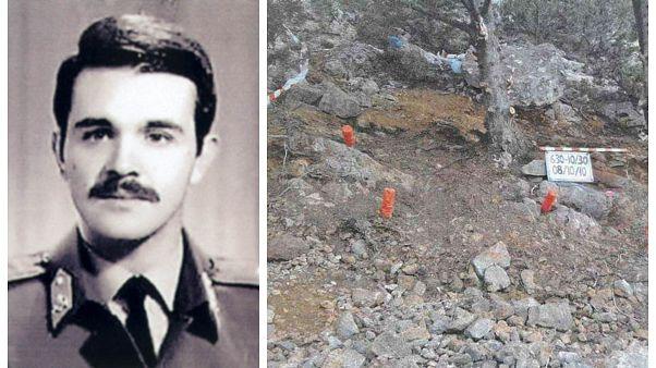 Κύπρος: Ταυτοποιήθηκαν τρία οστά του Γιώργου Παπαλαμπρίδη, που σκοτώθηκε το 1974
