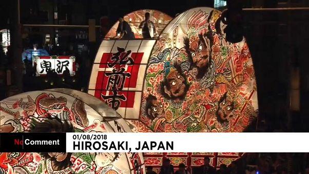 شاهد: مهرجان درء النعاس والكسل في اليابان