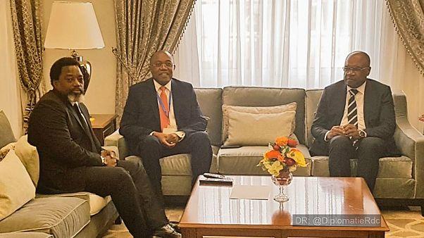 Presidente da RD Congo está em Angola para visita de dois dias