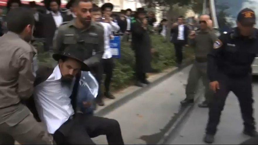 تظاهرات یهودیان ارتدوکس در اسرائیل