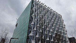 Die neue US-Botschaft in London, 12.01.02018