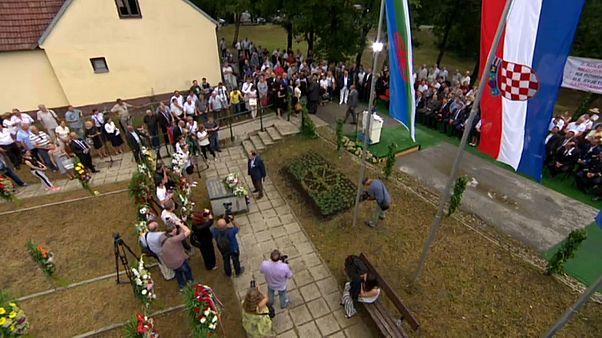 In Kroatien wurde an die im Zweiten Weltkrieg getöteten Roma gedacht.