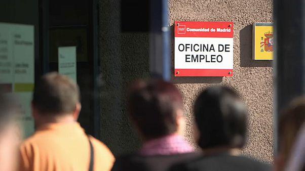 Menor taxa de desemprego em Julho em Espanha