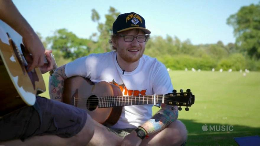 Documentary on Ed Sheeran highlights his creativity