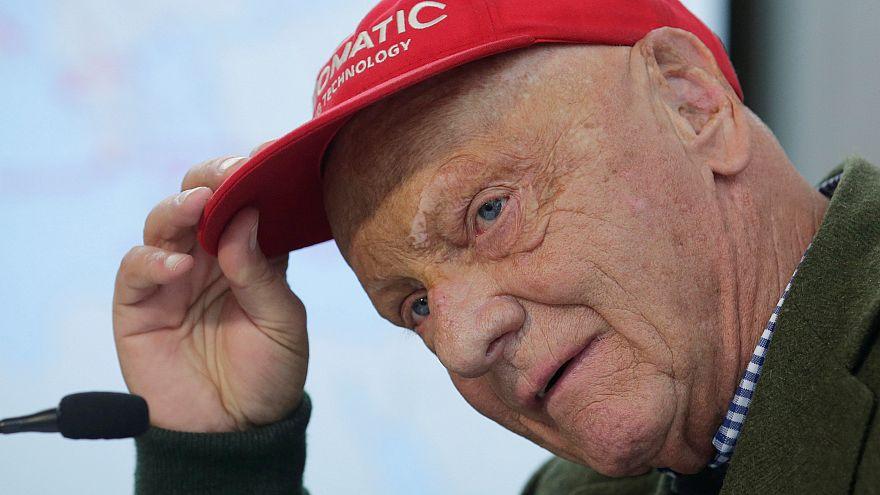 Niki Lauda submetido a transplante de pulmão