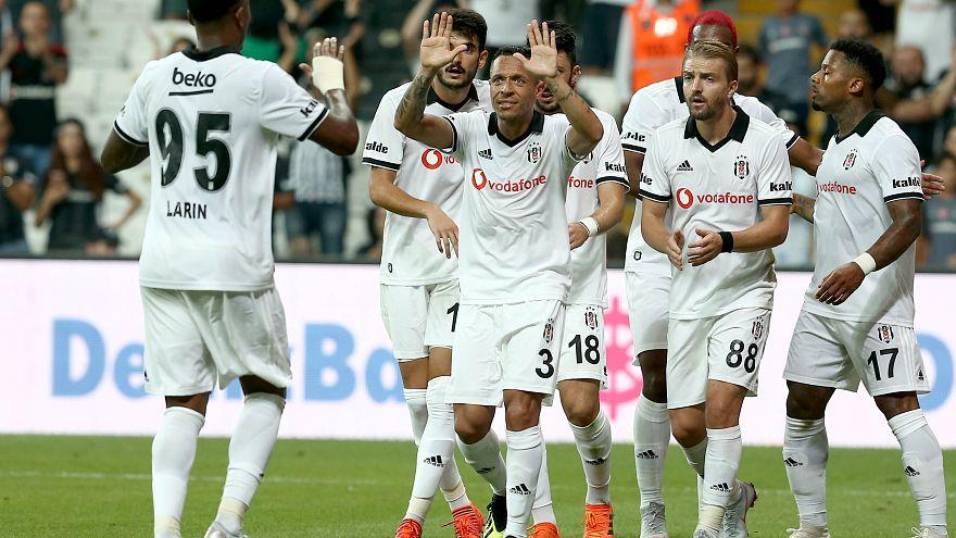 Beşiktaş'tan yarım düzine gol