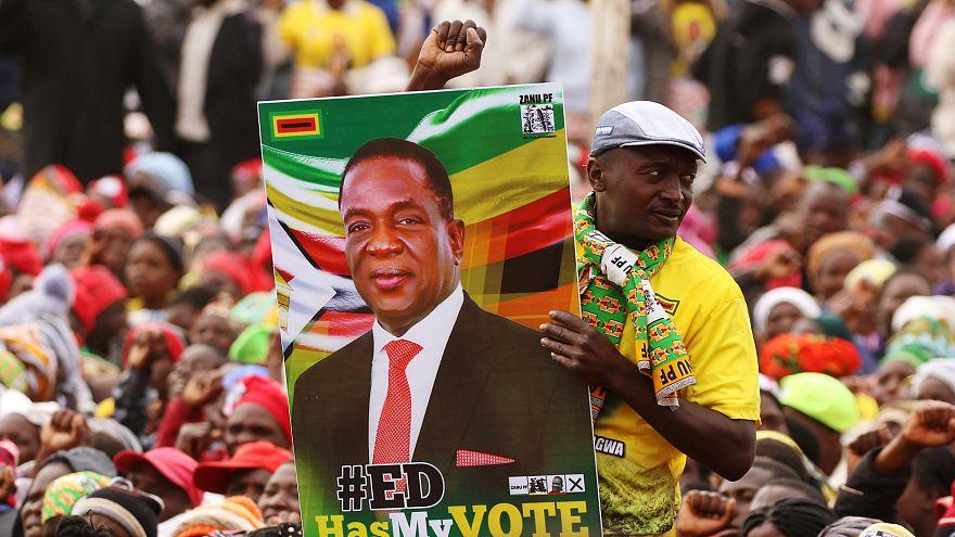 Mnangagwa foi declarado Presidente mas a oposição rejeita