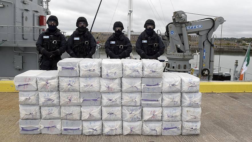 One tonne of cocaine seized
