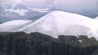 التغير المناخي يسلب  قمة جبل في السويد ارتفاعها القياسي