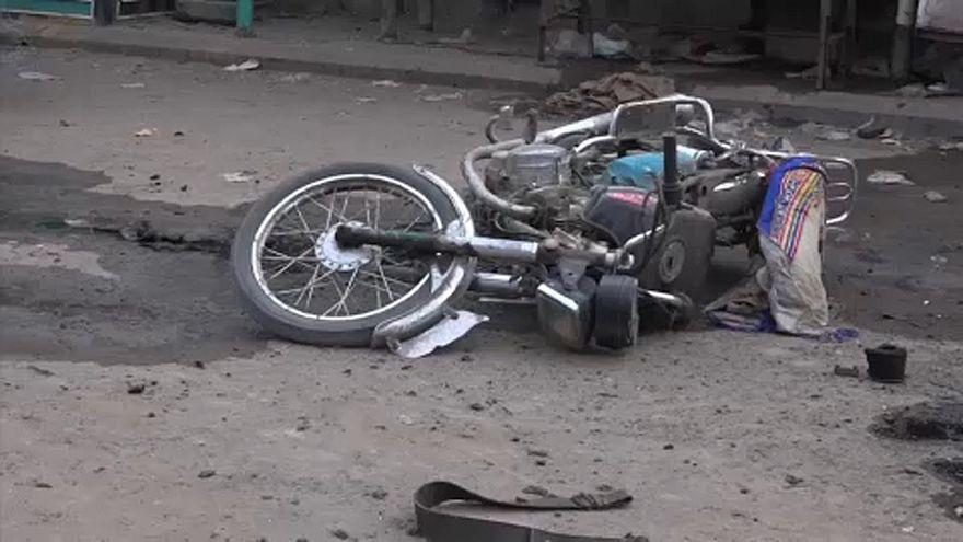 Dozens killed in airstrikes on Yemeni port of Hodeida