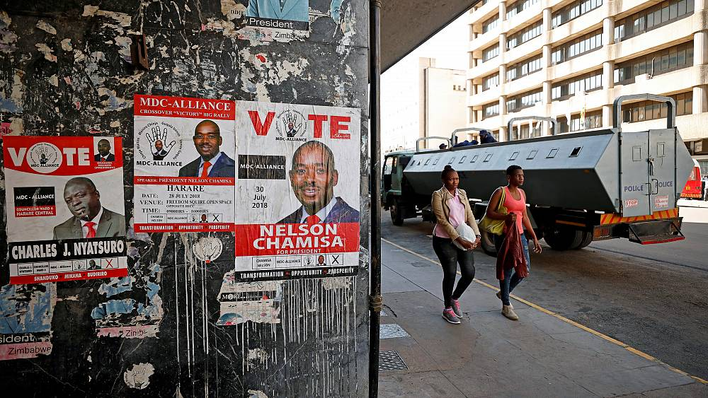 Zimbabweans voice frustrations as election results are released | The Cube