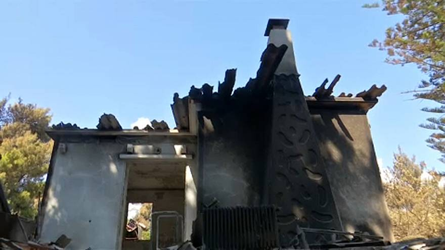 Athén: újabb halálos áldozata van a tűzvésznek