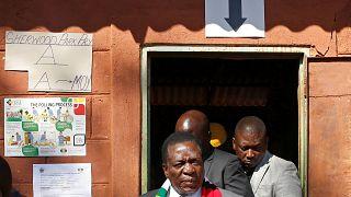 Emmerson Mnangagwa re-elected as President of Zimbabwe