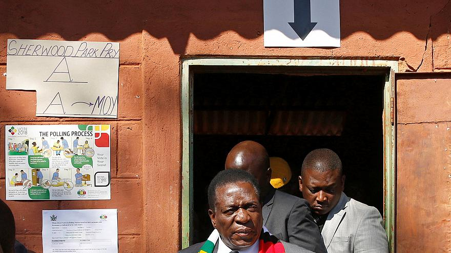Emmerson Mnangagwa re-elected as President of Zimbabwe