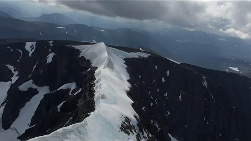 Climate change: melting mountains