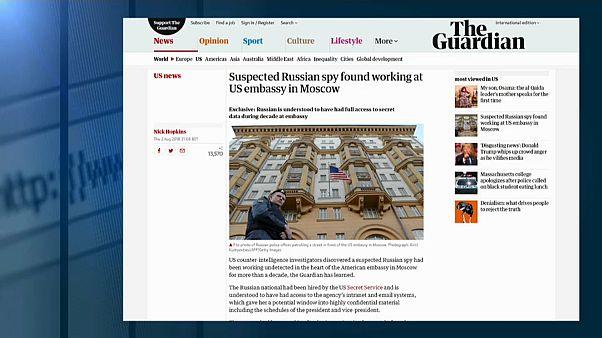 В посольстве США работал русский шпион?