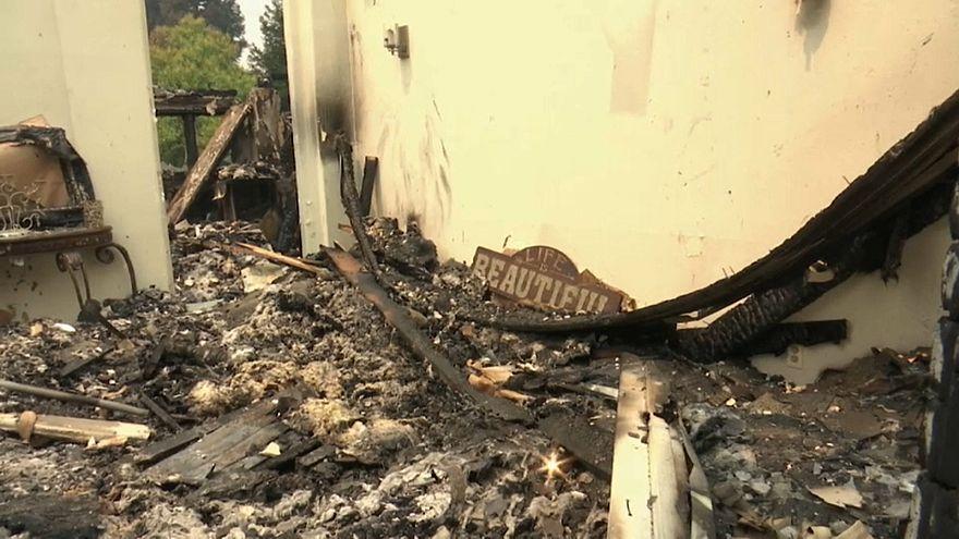 12 gündür devam eden yangın sonrası vatandaşlar evlerine dönüyor