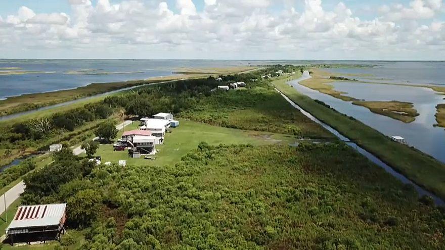 Klimawandel: Eine Insel verschwindet in Louisiana