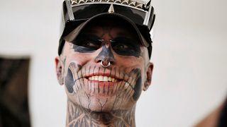 Gaga and Marc Quinn muse Zombie Boy dies