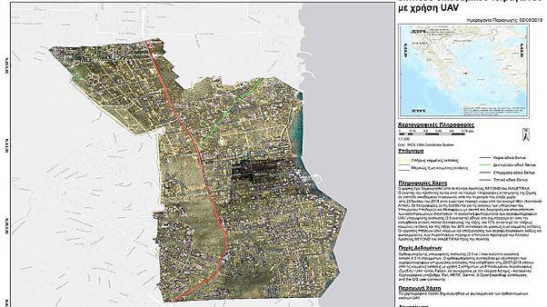 Πλήρως καμένες το 70% των εκτάσεων στο Μάτι - Χάρτης του Αστεροσκοπείου Αθηνών