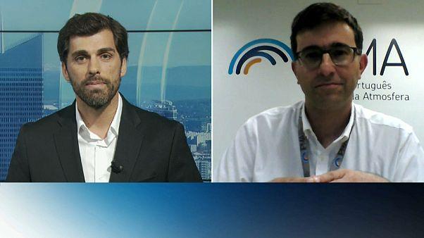 Duplex com Nuno Moreira, meteorologista do IPMA
