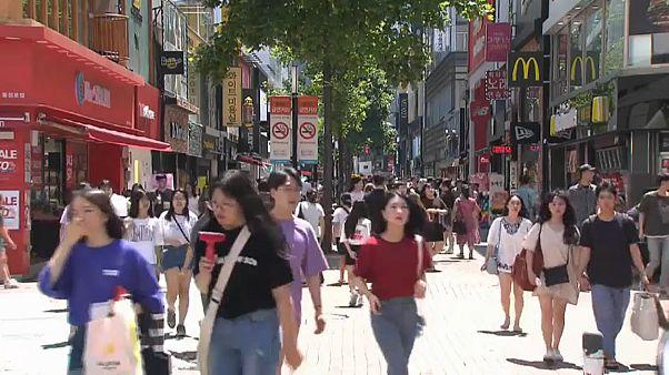 Корейский полуостров страдает от жары