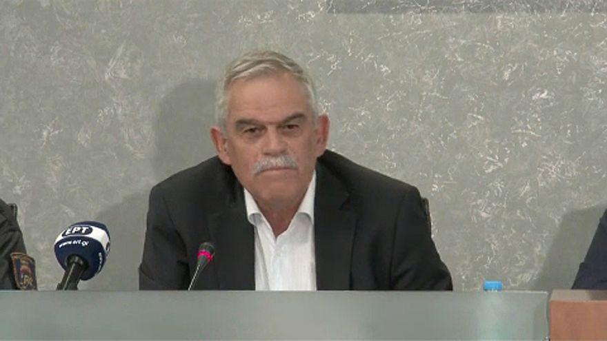 Lemondott egy görög miniszter a tűzvész miatt
