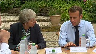Theresa May európai brexit-turnén