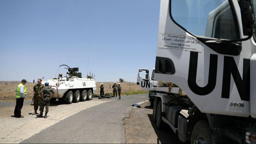 کلاه آبی های سازمان ملل متحد به بلندی های جولان باز می گردند