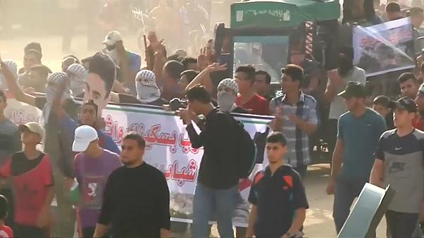 One dead and over 200 hurt in Gaza protest