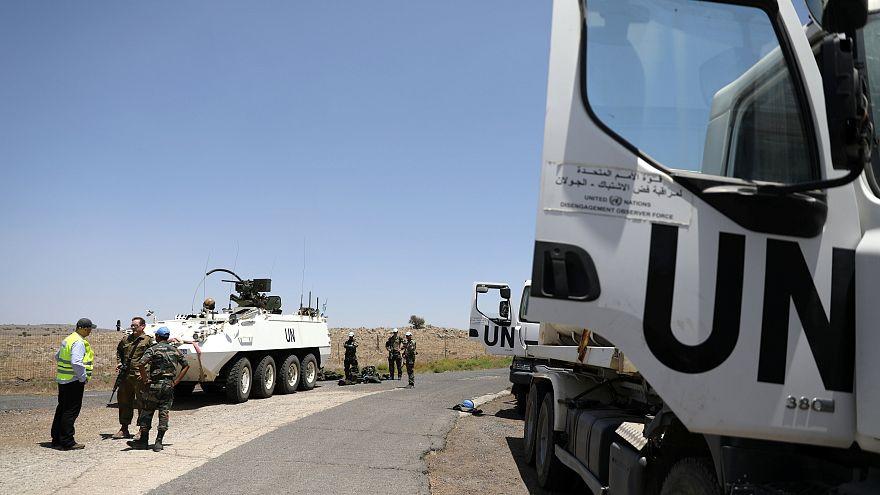 BM Barış Gücü askerleri 4 yıl sonra Golan Tepeleri'ne döndü