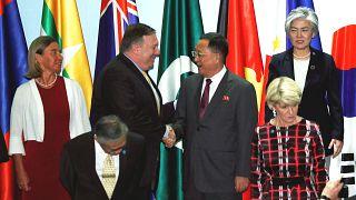 Pompeo: K.Kore nükleer silahsızlanma konusunda verdiği sözün çok gerisinde