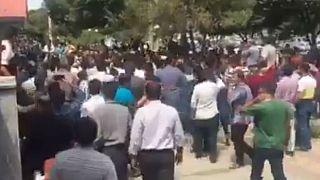 چهارمین شب ناآرامی در ایران؛ هجوم معترضان به حوزه علمیه کرج