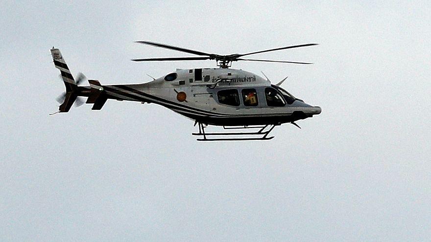 Helikopterbaleset Szibériában