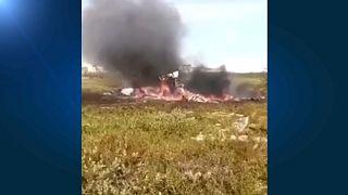 18 Tote: Hubschrauber-Absturz in Sibirien