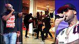 Paris havaalanını birbirine katan ünlü rapçiler tutuklu yargılanacak