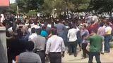 مظاهرات في إيران ضد الغلاء والفساد والحكومة مع اقتراب عودة العقوبات