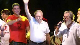 Brazil's Lula nominated for president from jail