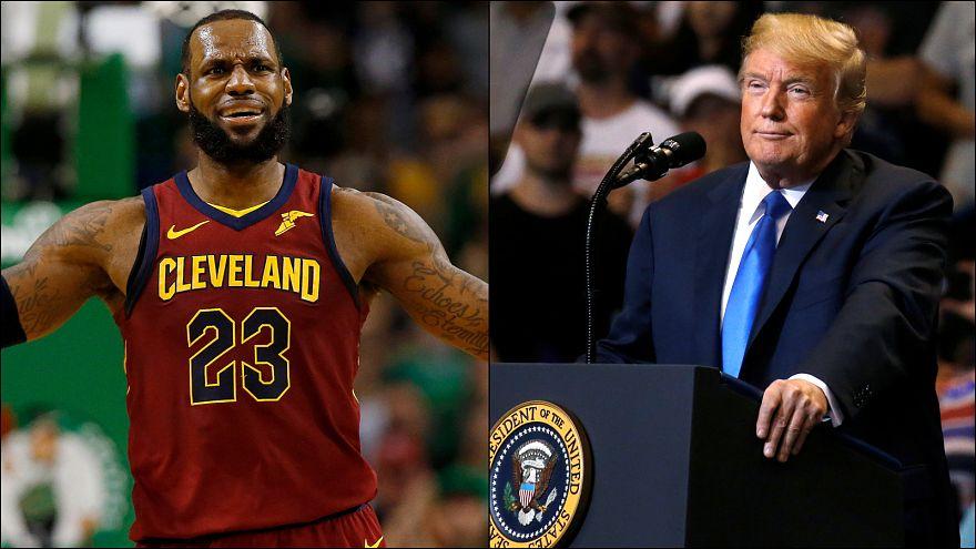 Trump'tan LeBron James'e üstü kapalı 'aptal' iması