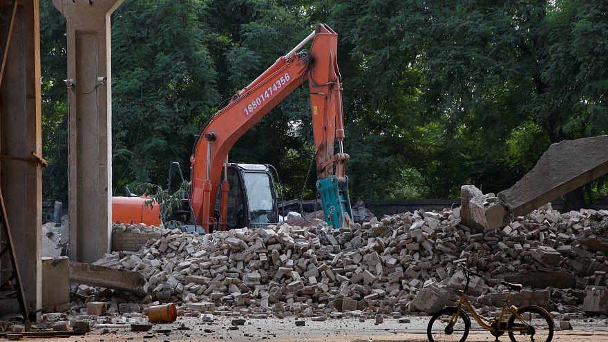 Watch: Ai Weiwei's studio demolished by Chinese authorities