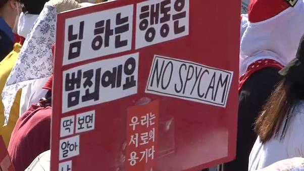 "Frauenproteste in Südkorea: ""My life is not your porn"""