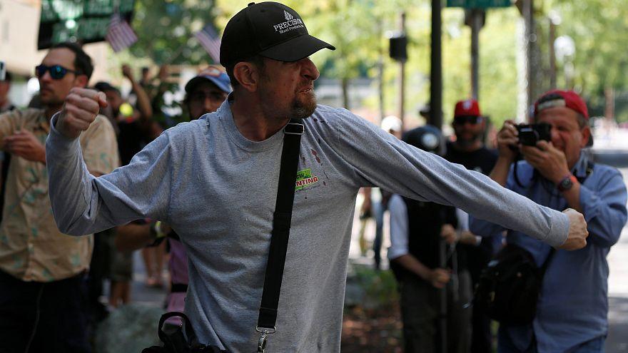 Антифашисты против ультраправых